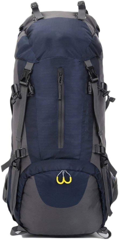 Emmala Mountain Bag Bergsteigen Camping Rucksack Outdoor Wandern Tasche Schulter Stilvolle Unikat 6L Reise Rucksack Nylon Wasserdicht (Farbe   Blauscuro, Größe   65  24  18cm)