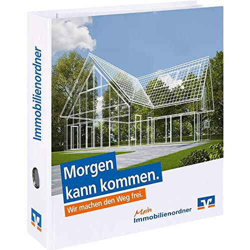 A4 Ordner Immobilienordner Bauordner Bankordner Finanzordner inkl. 10tlg. Register