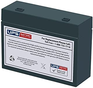 12V 5.5Ah RT - Replacement battery for CSB HC1217W by UPSBatteryCenter
