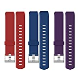 <span class='highlight'><span class='highlight'>YAMAY</span></span> Replacement Straps for SW333 Activity Bracelets, Red   Blue   Purple