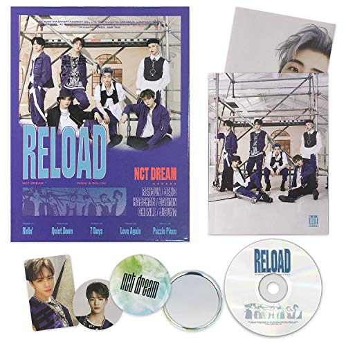 NCT DREAM - RELOAD [ Rollin' ver. ] CD + Booklet + Folding Poster + Photocard + Circle Card + FREE GIFT / K-pop Sealed