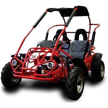 TrailMaster MID XRX Go Kart, 6.5hp Torque Converter Blue