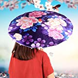 Paraguas de seda, suave y cómodo paraguas de decoración del hogar, accesorios de rendimiento, drama de vestuario para cosplay(03)