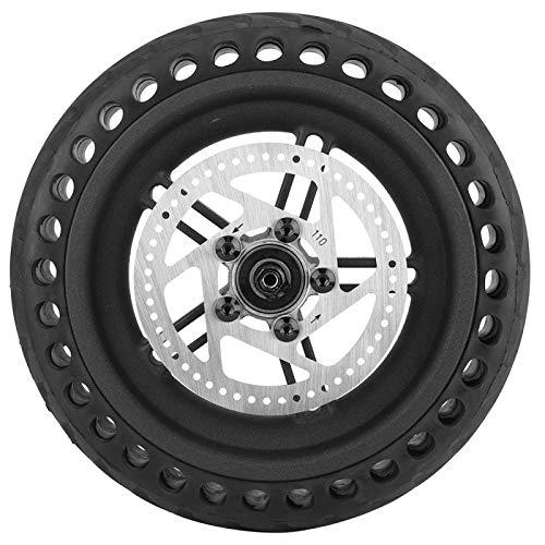 VGEBY Juego de neumáticos de Cubo de Rueda para Scooter eléctrico, Cubo de Rueda de neumático Trasero con Pastilla de Freno de Disco Compatible con Scooter eléctrico Xiaomi Mijia M365