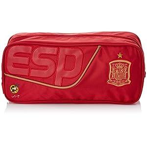 Selección Española La Roja Neceser Tipo Casual, 34 cm, Rojo