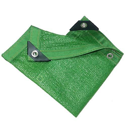 PZFC Mallas De Sombreo Jardin 90% de protección Solar Verde sombreado netas 6 Puntadas Balcón Flores Verdes de la Planta de sombreado netas 23 Tamaños (Color : Green, Size : 2x5m)