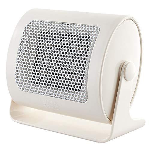Mini ventilador de cerámica PTC calentador eléctrico con 90 grados de oscilación de protección contra sobrecalentamiento de escritorio de oficina uso en el hogar portable práctico 500W calentador sile
