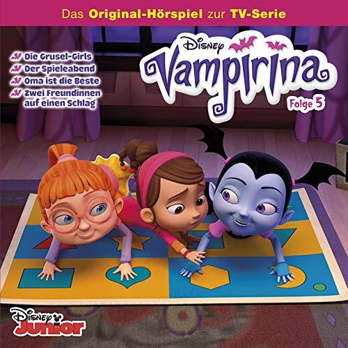 Die Grusel-Girls / Der Spieleabend / Oma ist die Beste / Zwei Freundinnen auf einen Schlag Titelbild
