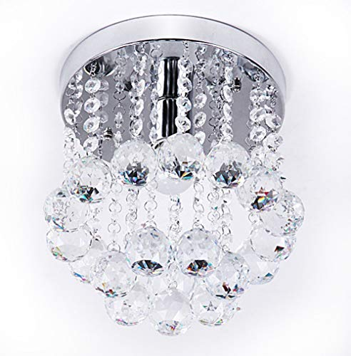 D4P Crystal Glass Chandelier for Living Room Ceiling Light Lamp Pendant, Color: Warm White and White (3 in 1) (1 Year Warranty)