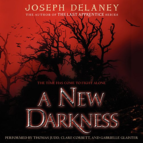 A New Darkness audiobook cover art