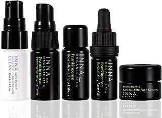 Inna Organic FRANKINCENSE MINI TRAVEL KIT, Anti-aging, Skincare Set, Luxury Clean Beauty, Certified Organic