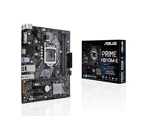 ASUS Prime H310M-E LGA 1151 (Zócalo H4) Intel® H310 Micro ATX - Placa Base (DDR4-SDRAM, DIMM, 2133,2400,2666 MHz, Dual, 32 GB, Intel)