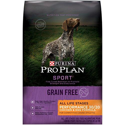 Purina Pro Plan Grain Free, High Protein Dry Dog Food, SPORT Performance 30/20 Chicken & Egg Formula - 24 lb. Bag