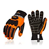 Vgo OffShore Anti Vibration Oil-proof Impact protection Water-Repellent Safety Synthetic L...