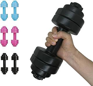 2 Pack 28 oz (830 ml) Dumbbell Shaped Water Bottle   Big Capacity   BPA Free   Leak Proof lid   Black