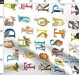 Gepard, Bär, Alphabet, Tiere, Abc, Schulanfang,