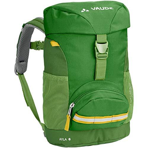 VAUDE Ayla - Pequeña mochila para niños - 6 litros, 29 x 21 x 12 cm, color verde