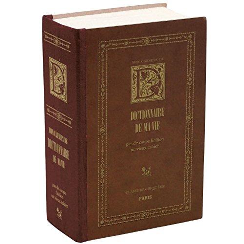 SPICE OF LIFE ラフ エクストラノートブック ディクショナリー ブラウン 12×6×18cm 592ページ 無地 KPBS4300