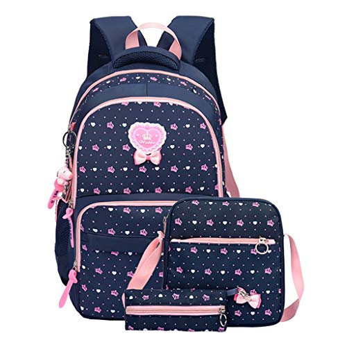 GudeHome Lichte schoolrugzak, schoolrugzak, laptoptas voor tienermeisjes, studenten, 9 kleuren