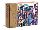 Clementoni - 16218 - My Puzzle - C'era un castello… - puzzle bambini 3 anni, puzzle 24 pezzi - Made in Italy - Play For Future, materiale 100% riciclato
