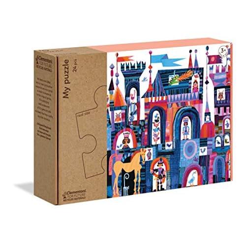 Clementoni-16218-My C'Era Un Castello… -Puzzle Bambini, Multicolore, 16218
