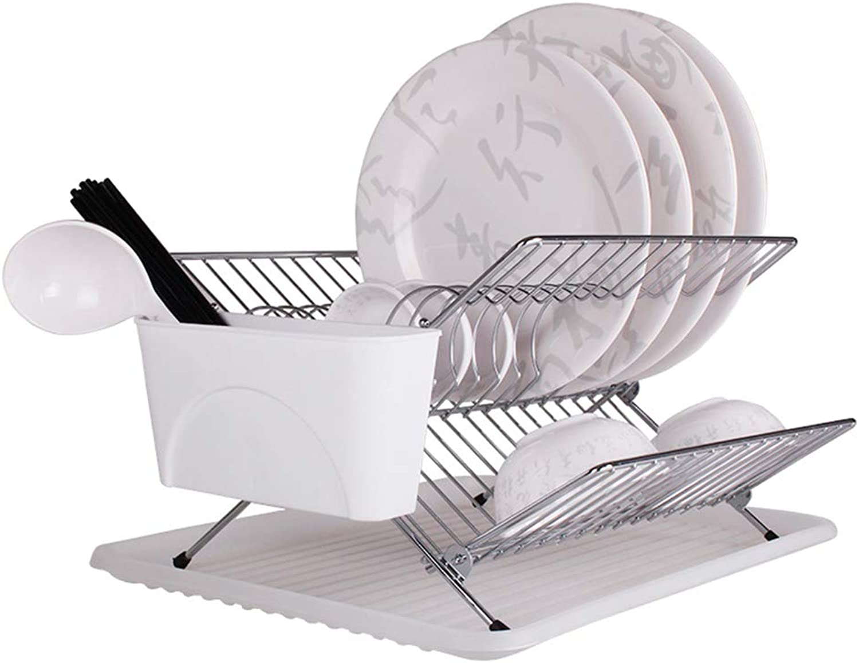 Jian E- Storage Shelf - Kitchen Storage Rack Drainable Dish Rack Tool Holder (Size  43 X 32 X 20cm)