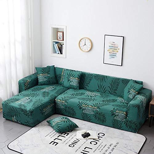 Funda Elástica para Sofá Cubierta del Funda de Protectora para sofá Una Variedad de Opciones de Material de poliéster Que Imprime Twilight 2 Funda de Almohada 45x45cm Fácil de Instalar