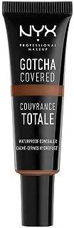 NYX Professional Makeup Gotcha Covered Concealer, Mocha, 0.27 Fluid Ounce