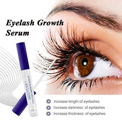 Cocohot Wimpern Wachstums Serum Wimpernwachstum - Flüssige Wimpernpflege - Wachsen, Eisstockschießen, Dicht, Wimpernverstärker