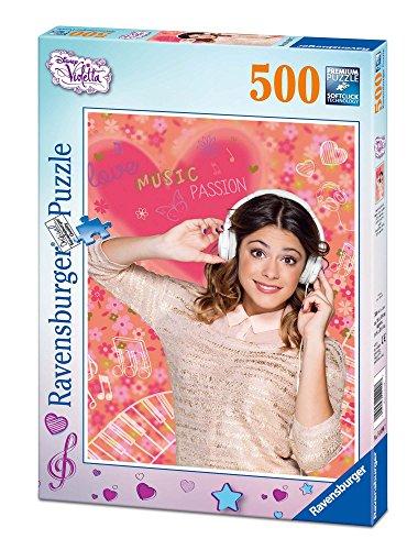Ravensburger 14490 - Disney Violetta liebt Musik, 500 Teile Puzzle