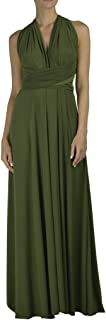 Von Vonni Made In USA Infinity/Transformer/Convertible Maxi Dress Made In USA