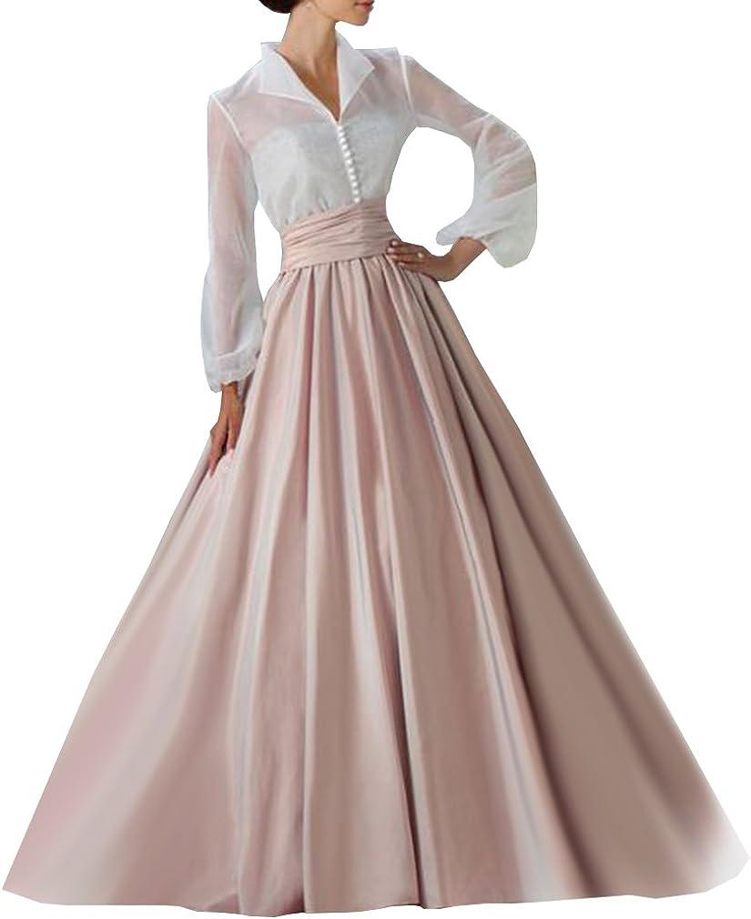 WDPL Superlatite Women's Floor 5 ☆ very popular Length High Skirt Prom Satin Bridal Waist