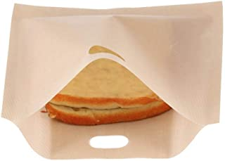 Toaster Bag, Reusable Non Stick Coated Fiberglass Microwave Heating Pastry Toaster Bread Sandwich Bags(1616.5CM)