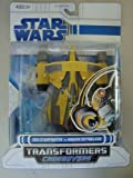 Star Wars Transformers Crossovers Jedi Starfighter a Anakin Skywalker