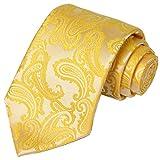 KissTies Sunflower Yellow Tie Paisley Wedding Ties Sunflower Necktie