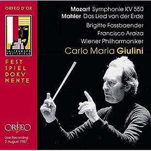 Mahler - Das Lied von der Erde; Mozart - Symphony No 40:Mytools