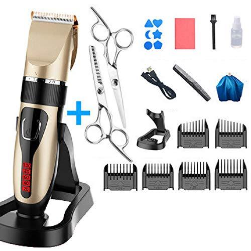 Clipper Haarschneide- wiederaufladbare Herren-Profi - Haarschneidemaschine Baby Kinder Rasieren Haarschneide- Haar haus Upgraded Value Pack