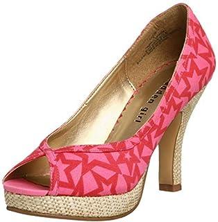 Steve Madden Women's Bessie Blush Multi Fashion Sandals-4.5 UK/India (37 EU) (6.5 US) (882946246335)