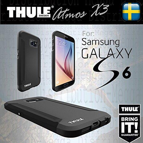 Thule Atmos X3 Extreme - Custodia protettiva per Samsung Galaxy S6 con corpo brevettato bi-componente ultra sottile