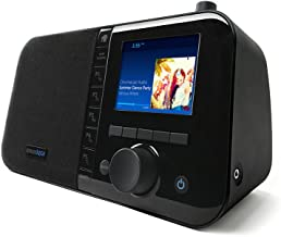"Grace Digital Mondo+ Wireless Smart Speaker and Internet Radio with Wi-Fi + Bluetooth and 3.5"" Color Display"