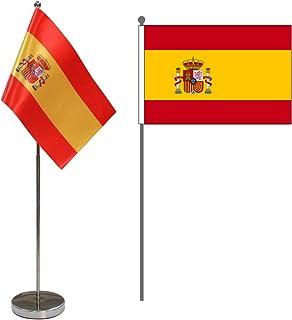 Amazon.es: bandera españa - Banderas de mesa / Accesorios de escritorio y productos de alma...: Oficina y papelería