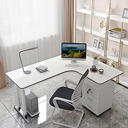 escritorio grande blanco de la marca SHENXINCI