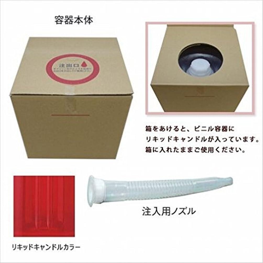 受動的はぁ貝殻カメヤマキャンドル(kameyama candle) リキッドキャンドル5リットル 「 ワインレッド 」