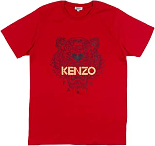 Kenzo 4Y7 5TS050 Red Crew Neck T-Shirt