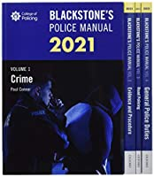 Blackstone's Police Manuals 2021 Set