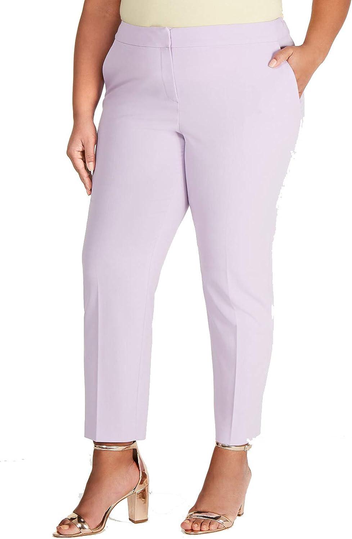 Bar III Trendy Plus Size Bi-Stretch Pants