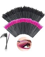 200 Desechables Cepillos de Pestañas,rimel cepillos,de Maquillaje Pinceles Aplicadores para Maquillaje de Cejas