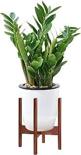 3 x pianta di grandi dimensioni color argento Pot Fioriera Giardino Vaso di fiori alto in plastica interni esterni