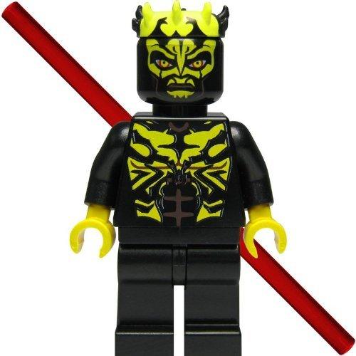 LEGO Star Wars Figur Savage Opress (Sith, Zabrak) mit Doppellaserschwert und Hornkranz