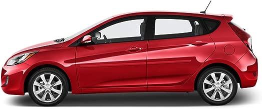Dawn Enterprises FE-ACCENT12 Finished End Body Side Molding Compatible with Hyundai Accent - CHAI/Mocha Bronze Metallic (ZBF)